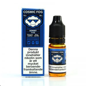 Cosmic Fog Sonset e-juice with nicotine