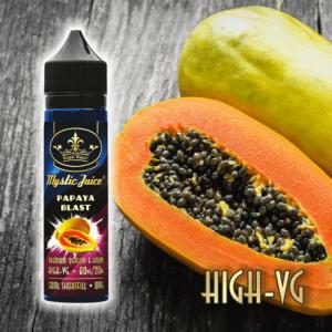 Mystic Juice High VG Papaya Blast Shortfill 50ml, E-Liquids, Shortfill, MTL Shortfill