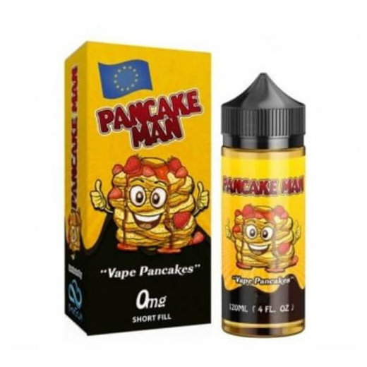 Pancake Man - Vape Breakfast Classics Shortfill - Bakery - iSmokeKing.se