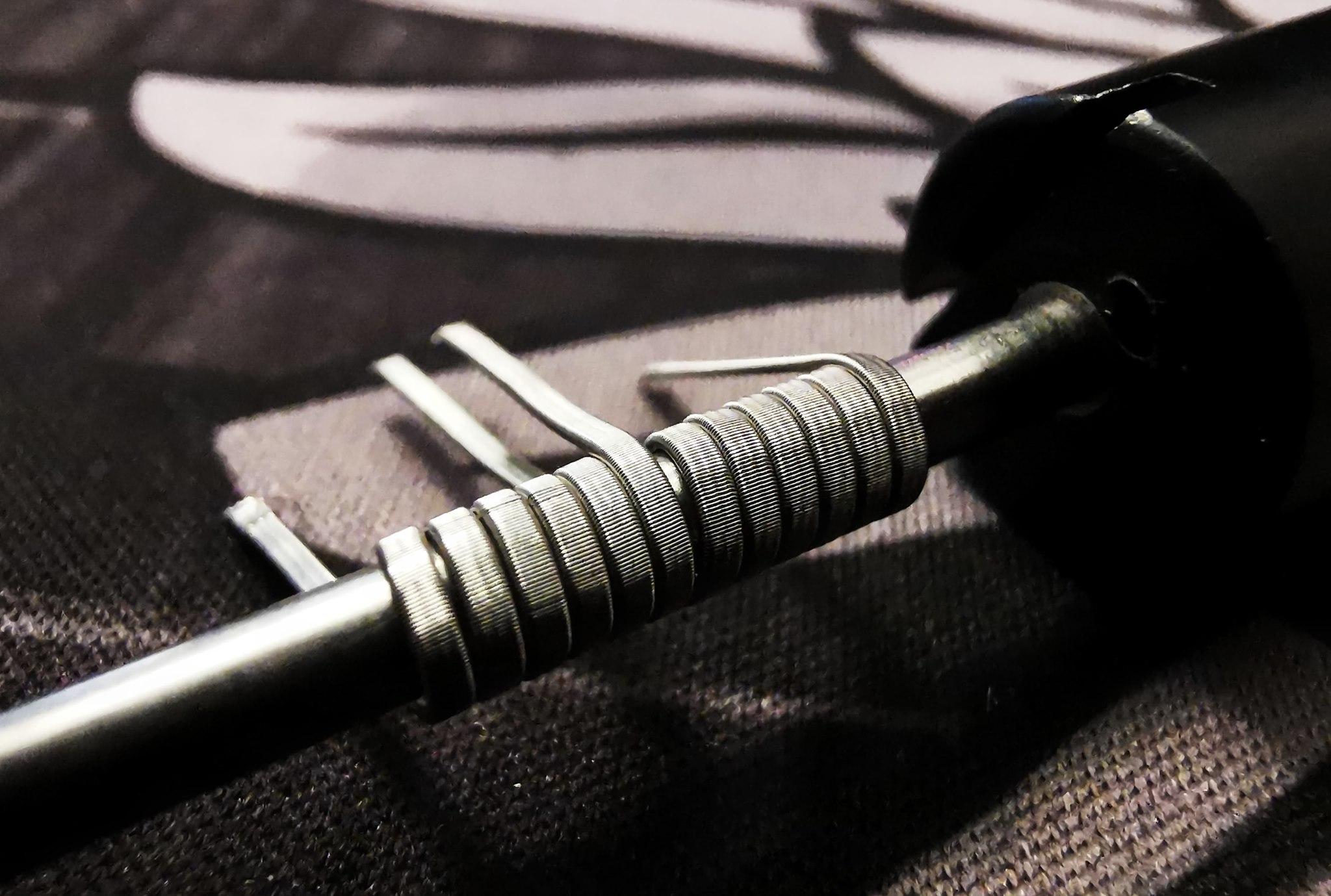 Vikingen Hand Made RBA Coils 3 Core Fused Clapton 0.12 Ohm