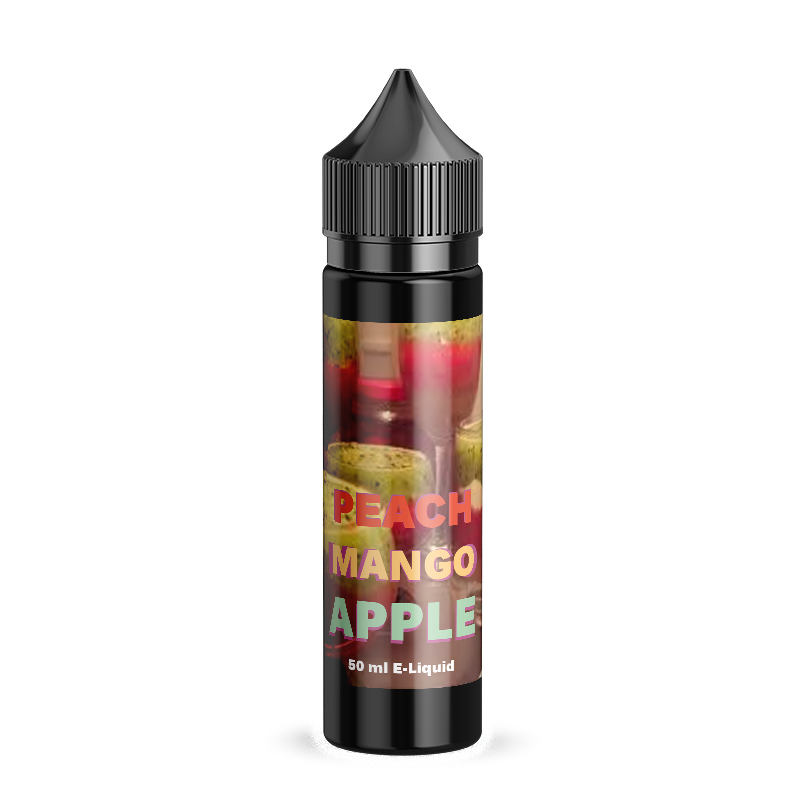 Crazy Mix LTD Peach Mango Apple V2 50ml Shortfill vape ejuice