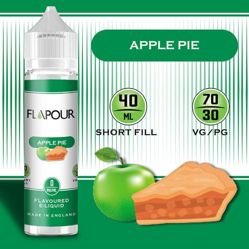 Flapour Apple Pie E-Liquids, Shortfill, MTL Shortfills