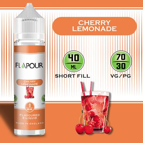 Flapour Cherry Lemonade Shortfill E-Liquids, Shortfill, MTL Shortfills