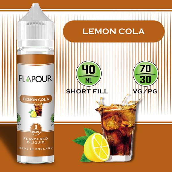 Flapour Lemon Cola, E-Liquids, Shortfill, MTL Shortfills