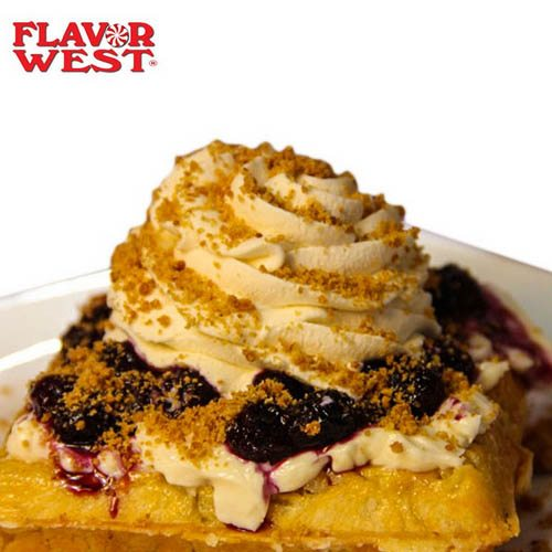 Flavor West Blueberry Graham Waffle Flavor