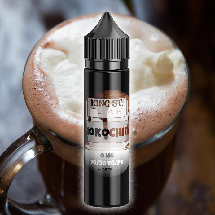 KING-ST-Team-choco-chino, Coffee, E-Liquids, Shortfill
