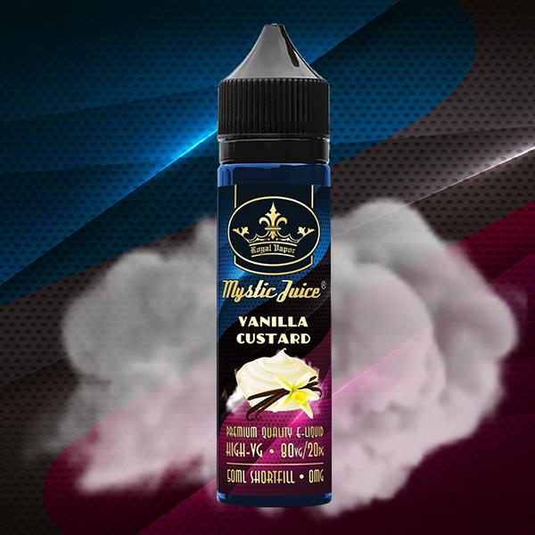 Mystic Juice High VG Vanilla Custard Shortfill 50ml