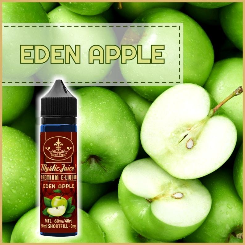 Mystic Juice Eden Apple, E-Liquids, Shortfill, MTL Shortfills
