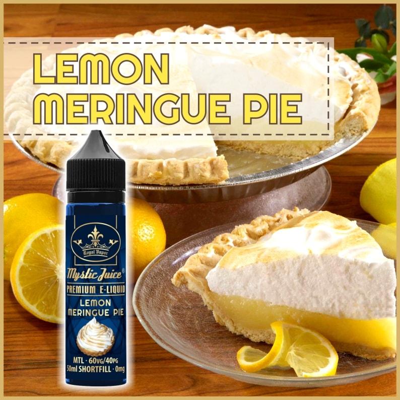 Mystic Juice Lemon Meringe Pie E-Liquids, Shortfill, MTL Shortfills