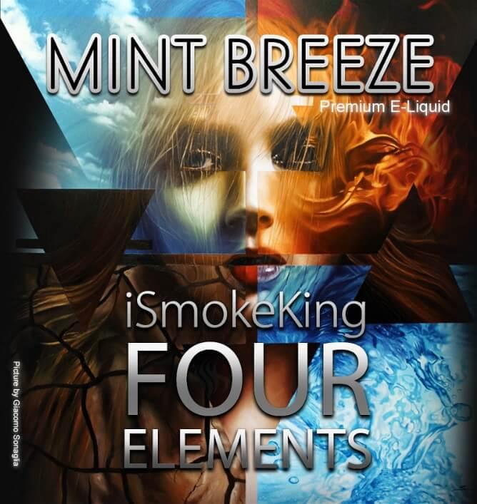 four elements e-liquids mint breeze