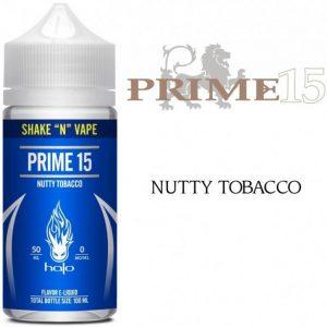 Halo Prime 15 Nutty Tobacco Shortfill