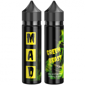The Mad Scientist Green Beast - Green Monster E-Juice - iSmokeKing.se