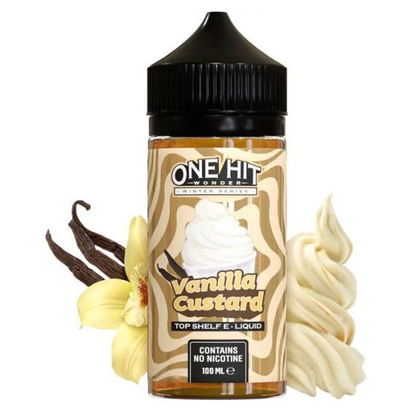 One Hit Wonder Vanilla Custard 100ml Shortfill vape ejuice