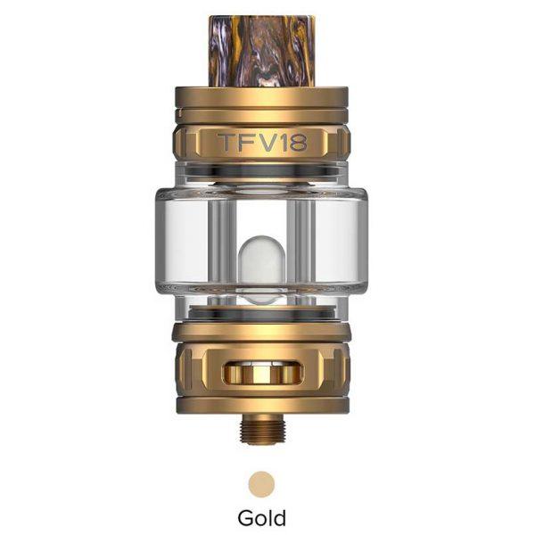 SMOK TFV18 Sub Ohm Tank Gold
