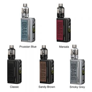 VOOPOO DRAG 3 177W TC Kit with TPP Tank colors