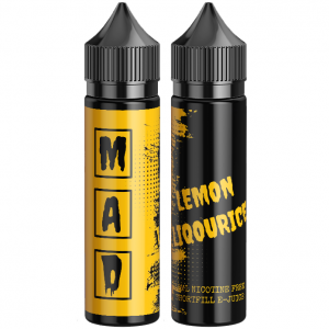 The Mad Scientist Lemon Liqourice vape candy ejuice