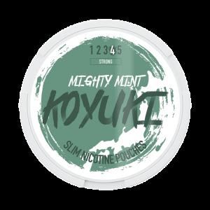 KOYUKI's All White - Nicotine Pouches -MIGHTY MINT tobacco free snus