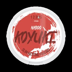 KOYUKI's All White - Nicotine Pouches - NABOO tobacco free snus