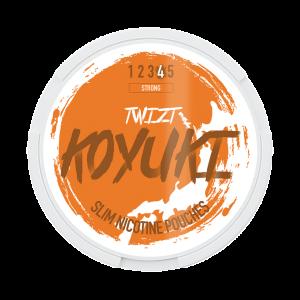 KOYUKI's All White Nicotine Pouches - TWIZT (Strong)
